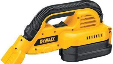 DEWALT Bare-Tool DC515B 18-Volt Cordless 1/2 Gallon Wet/Dry Portable Vacuum (Tool Only, No Battery)