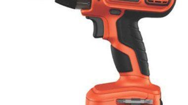 Black & Decker SS12C 12-Volt Cordless Drill/Driver