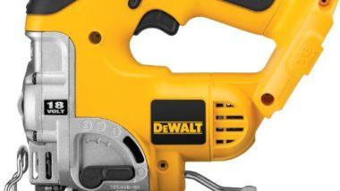 DEWALT Bare-Tool DC330B  18-Volt Cordless Jig Saw with Keyless Blade Change