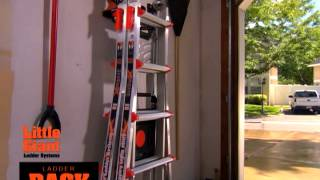 Little Giant Ladder Rack Demo